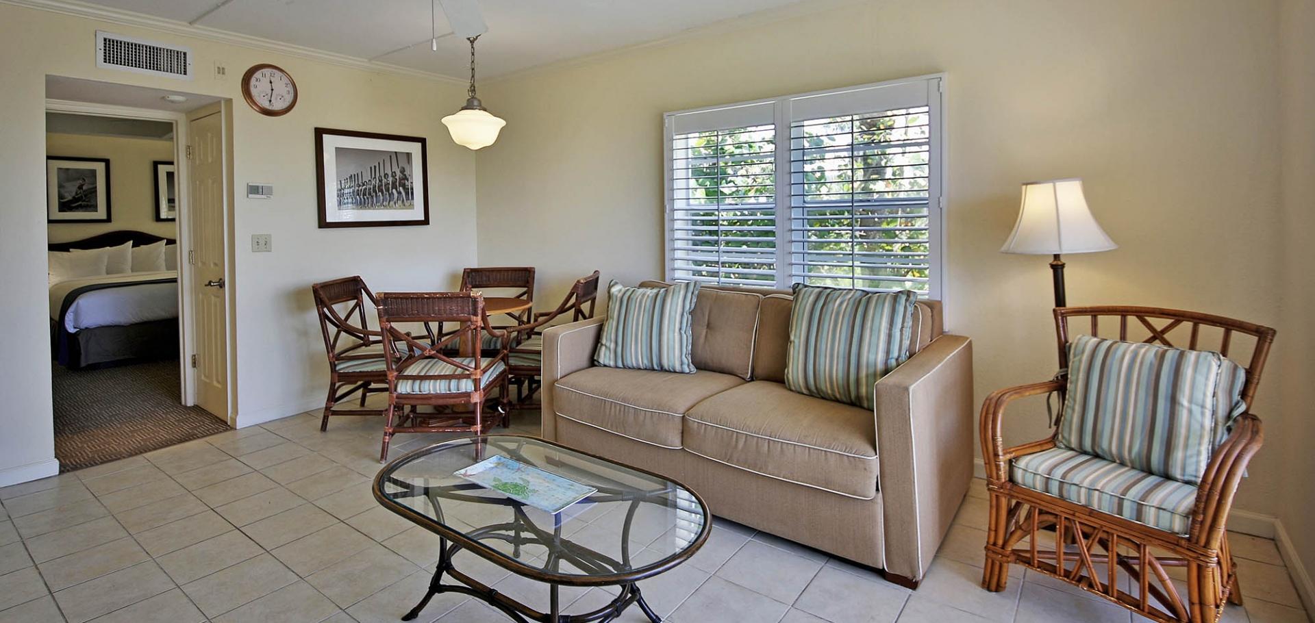 Seaside Inn living room