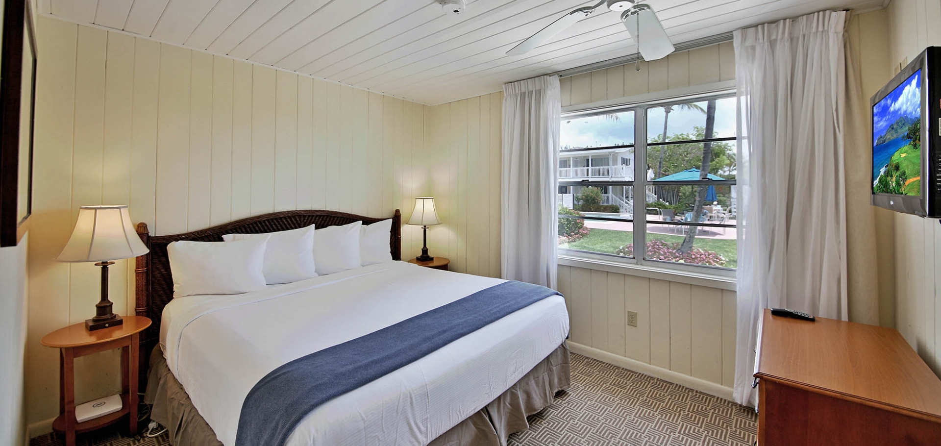 Seaside Inn, Sanibel bedroom